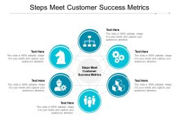 Steps Meet Customer Success Metrics Ppt Powerpoint Presentation Styles Gallery Cpb