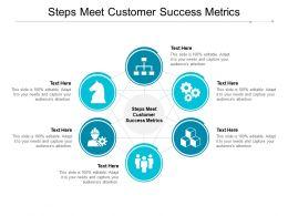 Steps Meet Customer Success Metrics Ppt Powerpoint Presentation Styles Gallery Cpb