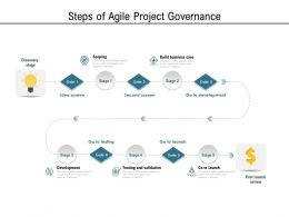 Steps Of Agile Project Governance