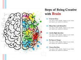 Steps Of Being Creative With Brain