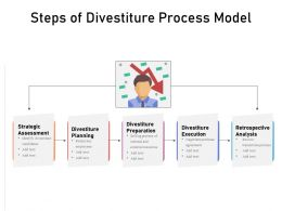 Steps Of Divestiture Process Model