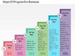 steps_of_progress_for_business_flat_powerpoint_design_Slide01