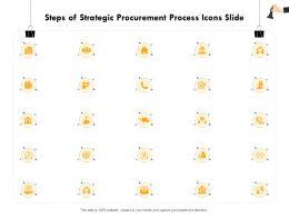 Steps Of Strategic Procurement Process Icons Slide Ppt Powerpoint Presentation File Slide Download