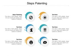Steps Patenting Ppt Powerpoint Presentation Professional Introduction Cpb
