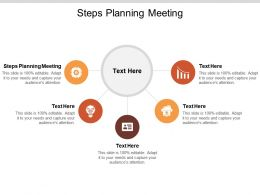 Steps Planning Meeting Ppt Powerpoint Presentation Summary Rules Cpb