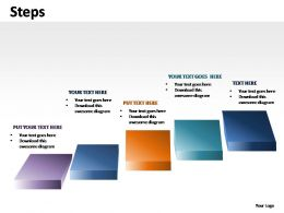 Steps Powerpoint Presentation Slides