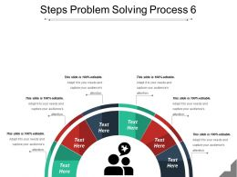 Steps Problem Solving Process 6 Powerpoint Themes