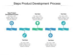 Steps Product Development Process Ppt Powerpoint Presentation File Graphics Cpb