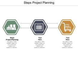 Steps Project Planning Ppt Powerpoint Presentation Pictures Tips Cpb