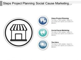Steps Project Planning Social Cause Marketing Change Management Cpb