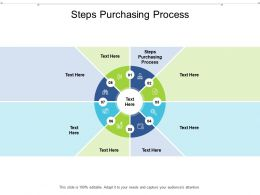 Steps Purchasing Process Ppt Powerpoint Presentation Layouts Slide Cpb