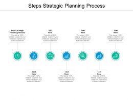 Steps Strategic Planning Process Ppt Powerpoint Presentation Model Files Cpb
