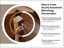 Steps To Create Security Assessment Methodology Documentation