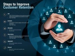 Steps To Improve Customer Retention