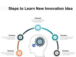 Steps To Learn New Innovation Idea