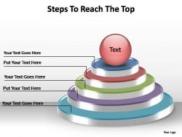 steps to reach the top editable powerpoint templates