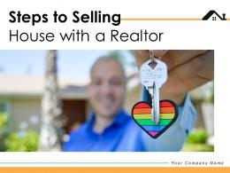 Steps To Selling House With A Realtor Process Agreement Marketing Strategy