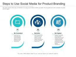 Steps To Use Social Media For Product Branding