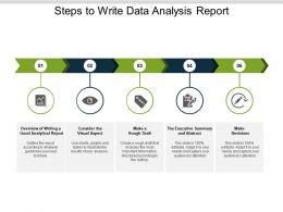 Steps To Write Data Analysis Report