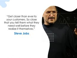 Steve Jobs Themselves Ppt Powerpoint Presentation Styles Graphics Template