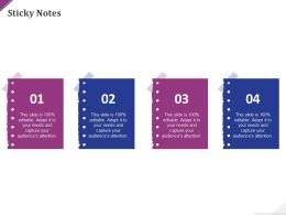 Sticky Notes C1452 Ppt Powerpoint Presentation Professional Icon