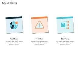 Sticky Notes Globe Process Ppt Powerpoint Presentation Pictures Introduction
