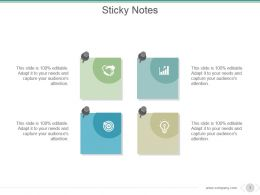 Sticky Notes Powerpoint Slide Rules