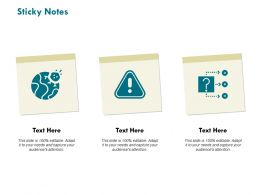 Sticky Notes Threat Management C791 Ppt Powerpoint Presentation Pictures Format Ideas