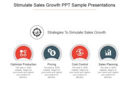 Stimulate Sales Growth Ppt Sample Presentations