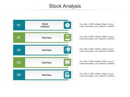 Stock Analysis Ppt Powerpoint Presentation Infographic Template Templates Cpb