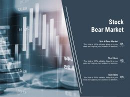 Stock Bear Market Ppt Powerpoint Presentation File Pictures Cpb