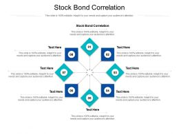 Stock Bond Correlation Ppt Powerpoint Presentation File Format Cpb