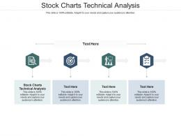 Stock Charts Technical Analysis Ppt Powerpoint Presentation Layouts Slide Portrait Cpb