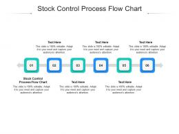 Stock Control Process Flow Chart Ppt Powerpoint Presentation Styles Skills Cpb