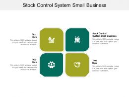 Stock Control System Small Business Ppt Powerpoint Presentation Inspiration Example Introduction Cpb