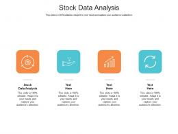 Stock Data Analysis Ppt Powerpoint Presentation Show Guide Cpb