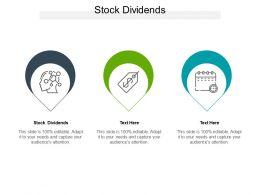 Stock Dividends Ppt Powerpoint Presentation Infographic Template Mockup Cpb