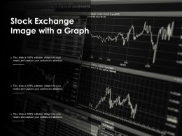 Stock Exchange Image With A Graph