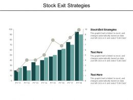 Stock Exit Strategies Ppt Powerpoint Presentation Pictures Example Cpb