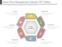 Stock Flow Management Sample Ppt Slides