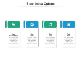 Stock Index Options Ppt Powerpoint Presentation Infographic Template Gridlines Cpb
