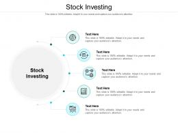 Stock Investing Ppt Powerpoint Presentation Infographic Template Brochure Cpb
