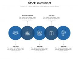 Stock Investment Ppt Powerpoint Presentation Summary Show Cpb