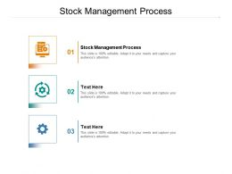 Stock Management Process Ppt Powerpoint Presentation Infographics Graphics Design Cpb