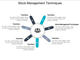Stock Management Techniques Ppt Powerpoint Presentation Icon Format Ideas Cpb