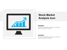 Stock Market Analysis Icon