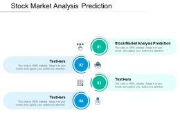 Stock Market Analysis Prediction Ppt Powerpoint Presentation Ideas Show Cpb