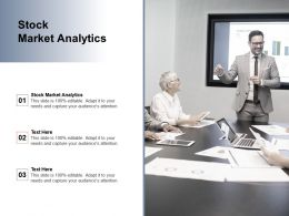 Stock Market Analytics Ppt Powerpoint Presentation Icon Rules Cpb