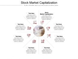 Stock Market Capitalization Ppt Powerpoint Presentation Portfolio Layout Cpb