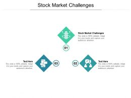 Stock Market Challenges Ppt Powerpoint Presentation Summary Templates Cpb